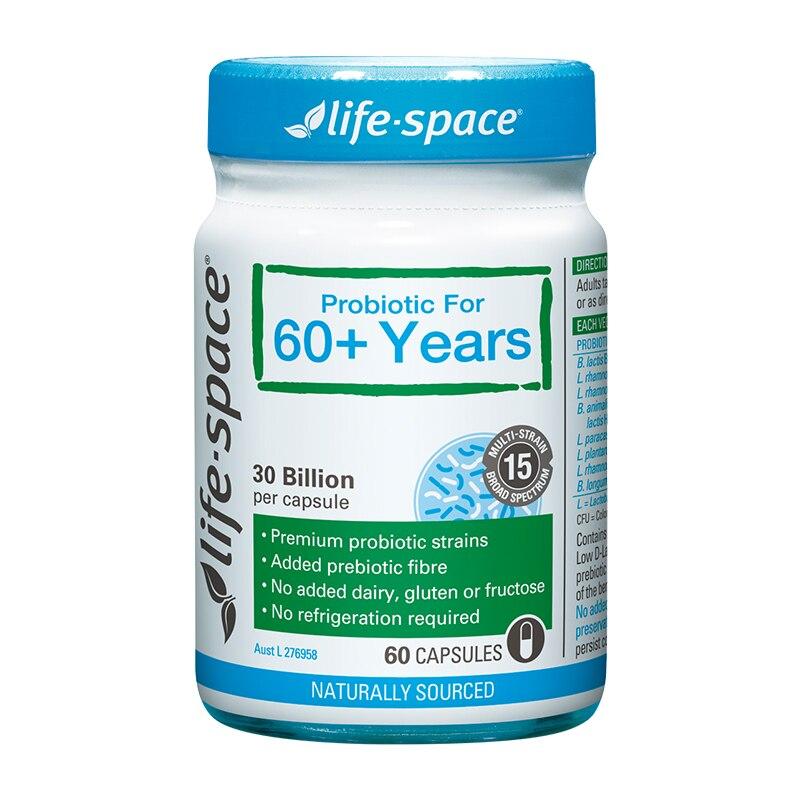 Saudável do Sistema Vida Espaço 60 Cápsulas Suporte
