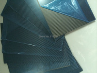 HCF011 Free Shipping By DHL 200X300mm 100 Full Carbon Fiber Twill Matte Plate Sheet Board