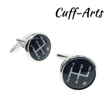 Cufflinks for Men High Quality Sports Cars Manual Gear French Shirts Fashion Gifts by Cuffarts C10125