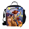 2015 Hot Cartoon Lunch Bag Kids School Character Toy Story Cowboy Lunch Box Bag For Boys Kids Personalized Insulated Lunch Bag