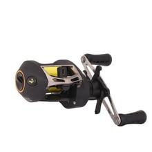 Yoshikawa 2000 Series 7+1BB Magnetic Brake Bait Casting Fishing Reel Gear Ratio 6.3:1 Ultra Light Low-Profile Fishing Wheel Reel цена