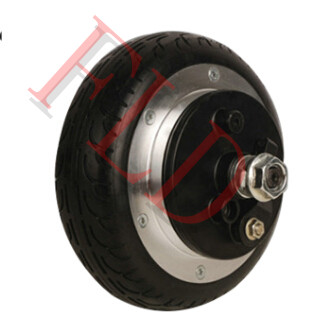 6 24v 350w electric scooter motor electric wheel hub for Scooter hub motor kit