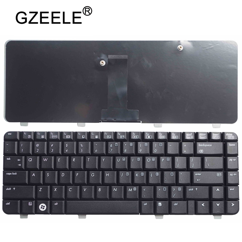 GZEELE New FOR HP 530 Hp530 US English Laptop Keyboard Black
