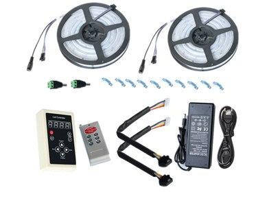 10 M 6803 LED RGB bande 150 LED 5050 numérique IP67 rêve magique couleur LED étanche bande + contrôleur RF6803 + alimentation 12V8A