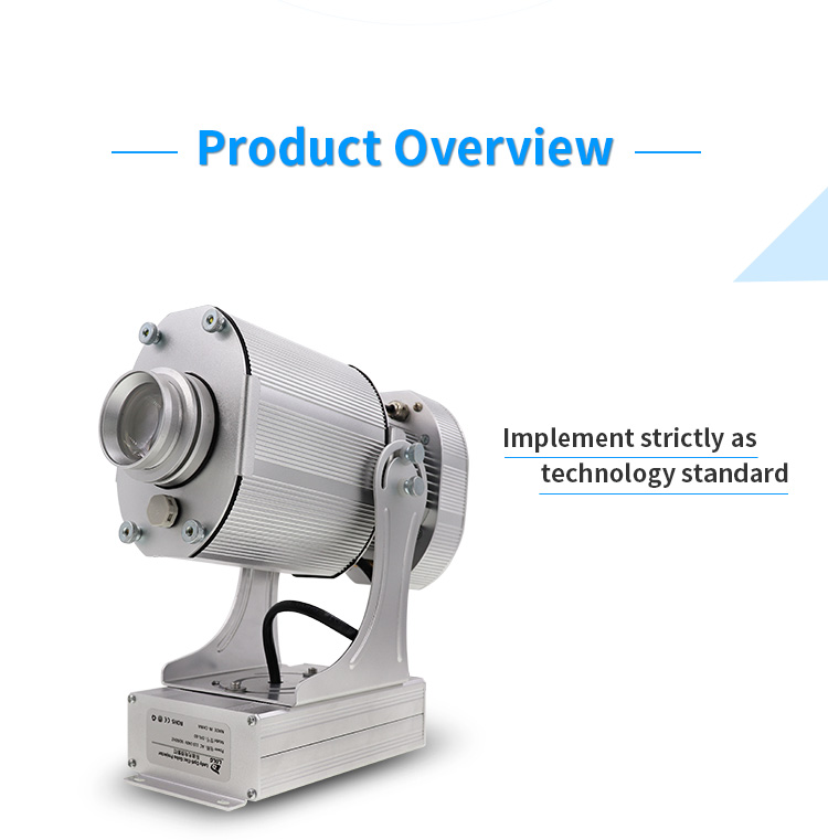 middle size 40W 80W projector highlights5