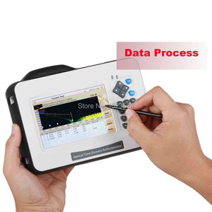 New D26 26/24dB SM 1310/1550nm Mini OTDR Optical Time Domain Reflectometer Fiber Optic OTDR with Touch Screen