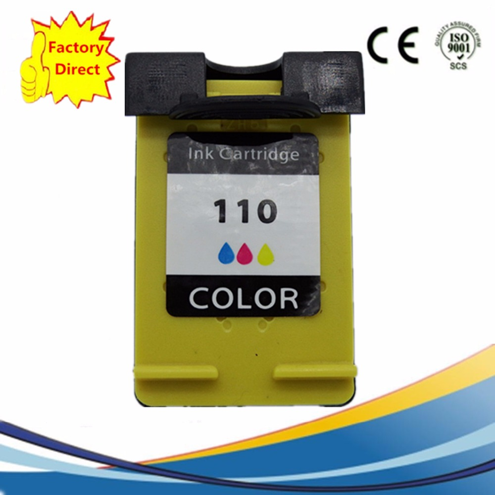 Ink Cartridges Remanufactured For <font><b>HP110</b></font> XL 110XL <font><b>HP110</b></font> HP110XL Photo Smart A433 A618 A432 A314 A516 A612 A717 A320 A436 A440 image