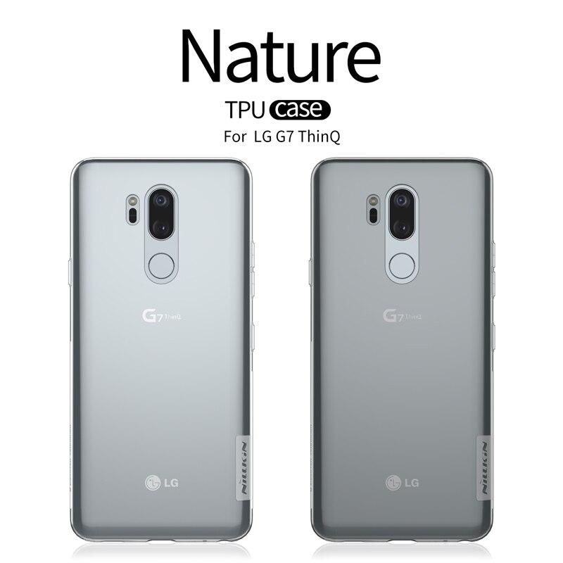 For LG G7 ThinQ Case NILLKIN Ultra Thin Slim TPU Case For LG G7 ThinQ Fitted Cases TPU Back Phone Cover For LG G7 ThinQFor LG G7 ThinQ Case NILLKIN Ultra Thin Slim TPU Case For LG G7 ThinQ Fitted Cases TPU Back Phone Cover For LG G7 ThinQ