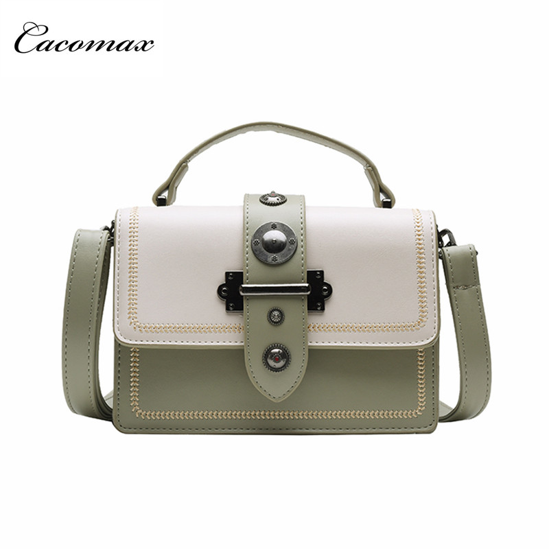 Foreign style small bag women's bag 2019 new fashion chain shoulder bag chic Joker color slung small square bag