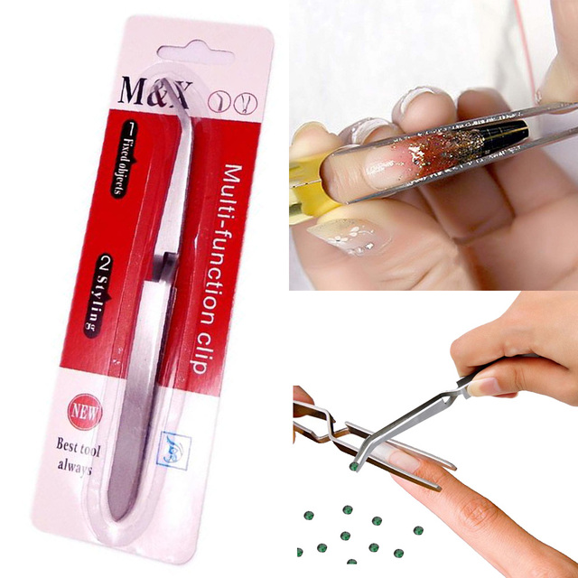Aliexpress.com : Buy manicure Acrylic UV Gel Tips Sculpture Tweezers ...