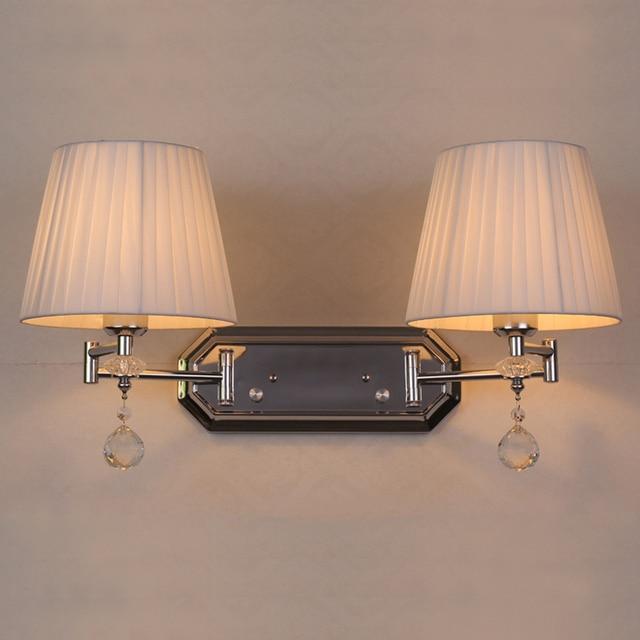 European Modern Wall Lights Creative Lamp Adjule Bathroom Mirror Light Bedroom Sconce With Switch