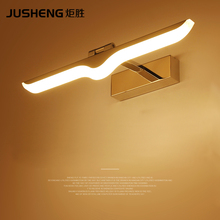 Simple modern bathroom waterproof mirror cabinet lamp bathroom LED wall lamp цены онлайн