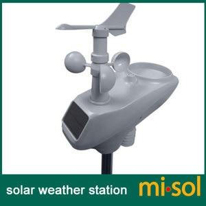 Image 2 - misol / WIFI weather station with solar powered sensor wireless data upload data storage
