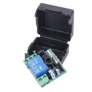 Image 3 - محول عالمي لاسلكي للتحكم عن بعد تيار مستمر 12 فولت 10A 433 ميجا هرتز جهاز إرسال عن بعد مع جهاز استقبال لنظام إنذار مضاد للسرقة