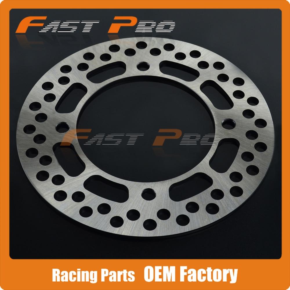Rear Brake Disc Rotor For SUZUKI TS125 90-96 DR250 90-95 DR350 4 Bolt Front Disc Kick Start 90-93 DR 350 Electril Street 94-95 цены онлайн