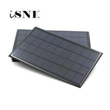 Panel Solar portátil de 6V, 9V, 18V, Mini sistema Solar DIY para cargadores de teléfono celular, 2W, 3W, 4,5 W, 6W, 10W, 20W