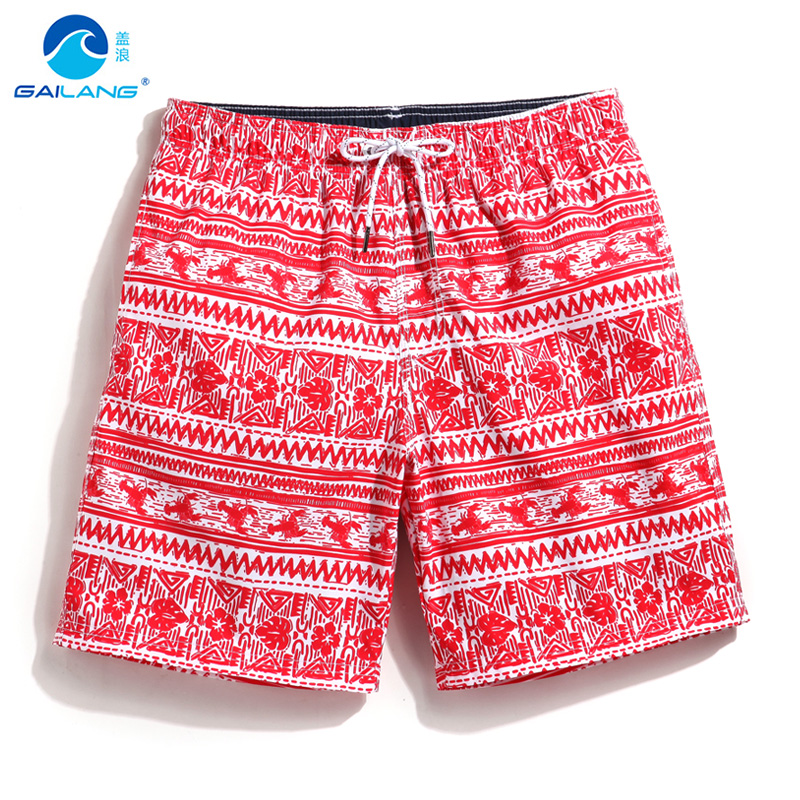 9477a6ddb3cea Gailang mens swimming trunks swimwear running board shorts sweat mesh lined  swimsuit