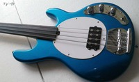 4 string fretless bass guitar electric bass guitar without fret
