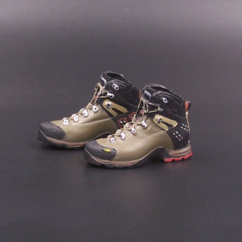 <font><b>1/6</b></font> <font><b>Scale</b></font> American Seal Hiking Shoes mountaineering boots sport shoes model empty inside <font><b>For</b></font> 12 Inch Male Soldier Body Figure image