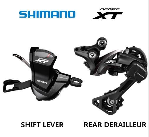 SHIMANO DEORE XT M8000 Groupset SL M8000 SHIFT LEVIER + RD M8000 ARRIÈRE DÉRAILLEUR VTT 11-VITESSE M8000 SL + RD GS SGS