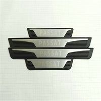 Door Sills For Volkswagen Passat B5 B7 2011 Passat Stainless Steel Scuff Plate Threshold Strip Car