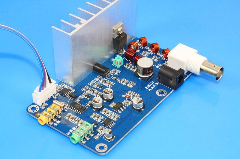 LCD Assembled FM 5W PLL FM Stereo Transmitter Max power 7W Receiver 76M-108MHz
