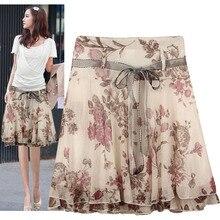 Casual Women Skirts Waist
