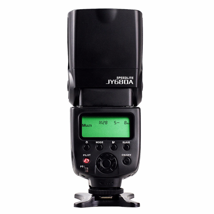VILTROX JY-680A Universal LCD Flash Speedlight for Canon Nikon d7100 d3100 d90 d5300 d3200 Pentax Olympus DSLR Camera купить в Москве 2019