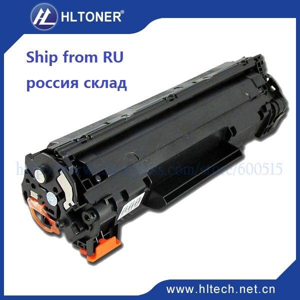 Schwarz toner patrone ce285a cb435a 285a 435a kompatibel hp laserjet p1005 p1006...