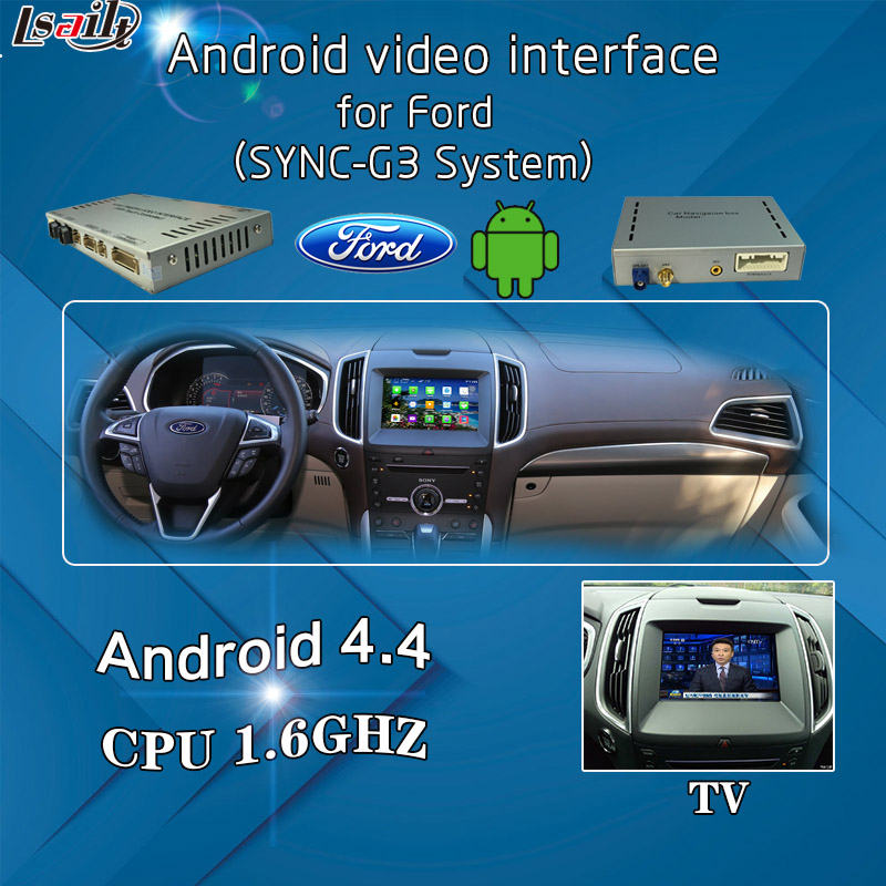 3G Network Android GPS Navigation Interface for Ford SYNC3 All Series