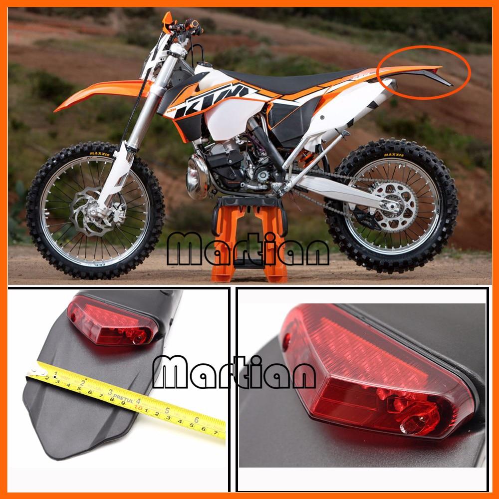 Polisport Motorcycle Led Tail Lightrear Fender Stop Enduro Halo Crf 230 Wiring Diagram Taillight Mx Trail Supermoto Ktm Cr Exc Wrf
