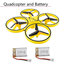 Buy Electric Drone Toys Firefly Intelligent Induction Remote Control Lithium Battery Aircraft Airplane RC Quadcopter Accessories directly from merchant!