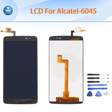 5 5 Black Original LCD for Alcatel Idol 3 OT6045 One Touch 6045 6045Y LCD display