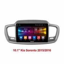 Android gps навигации Смарт вызова Системы автомобильный DVD голову блок компьютера видео плеер для KIA Sorento 2015 2016 DAB аудио стерео