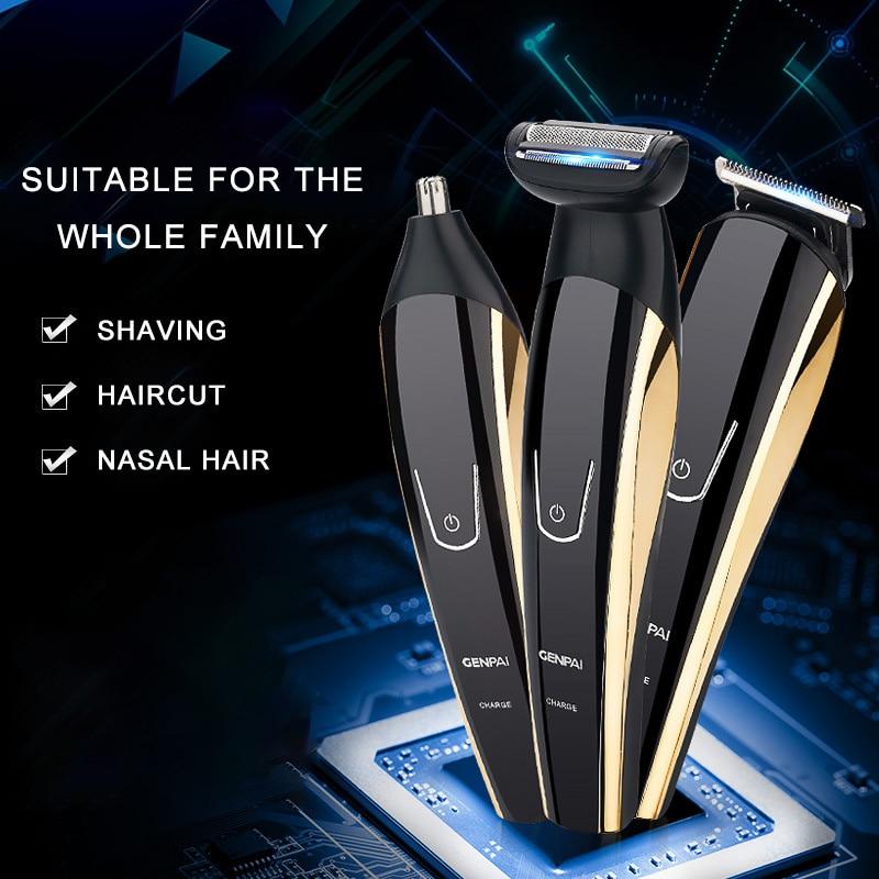 Tondeuse à cheveux électrique pousse-cisaillement électrique Type de chargement de cheveux tondeuses adulte professionnel rasage de cheveux électrique tondeuse à cheveux