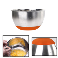 2016 Free Shippinf Brand New Non Skid Stainless Steel Mixing Bowl