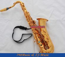 Gold C Melody Saxophone Sax High F# Abalone Keys FREE Case