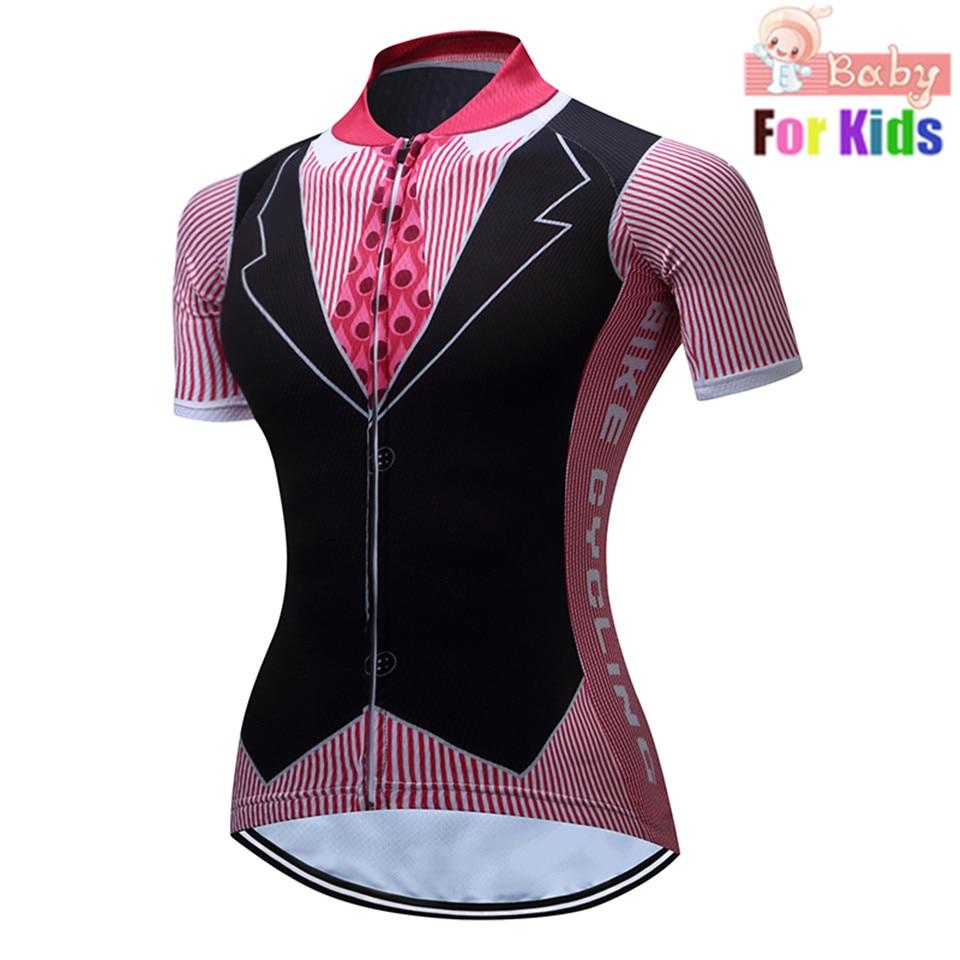 Cycling Clothing Bike Jersey Children Shirt Short-Sleeve Ciclismo Maillot Racing Mtb
