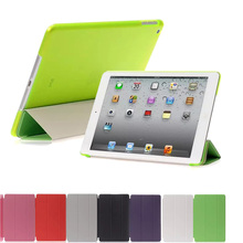 Купить с кэшбэком Case for iPad Pro 9.7 inch Smart Cover Holder Stand Case Auto Wake Tablet Protect Cases for Apple iPad Pro 9.7'' Covers