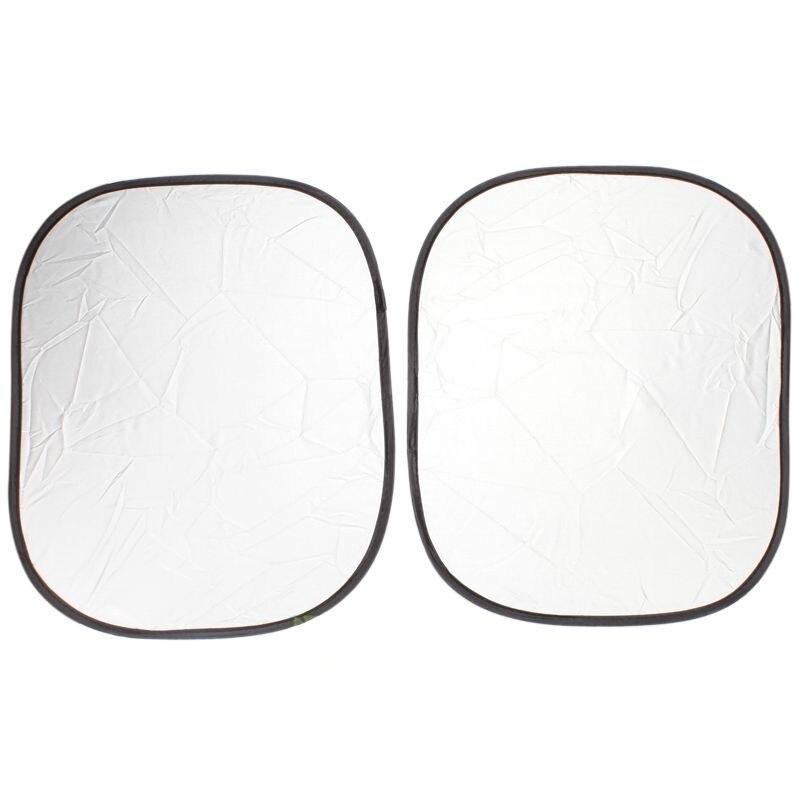 6 Pcs Sun Visor Car Windshield Shade Silver Reflective Foldable Windshield Full Shield Car Sun Visor Cover Uv Protect Reflector