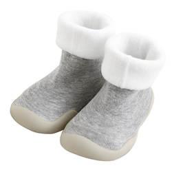 KiDaDndy 2019 Новый Зима Весна махровые толстые теплые носки для маленьких мальчиков девочек Нескользящие «ползунок» Носки Обувь для малышей SO521A