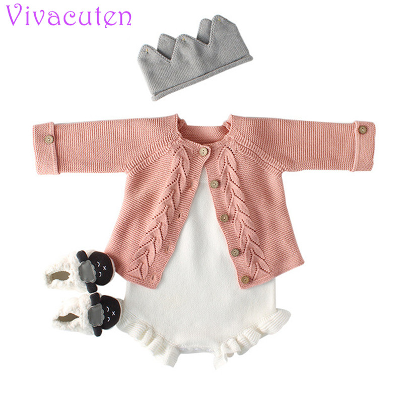 New Baby girls Cardigan Children's Wear Sweater Girl Baby Cotton Knit Cardigan Coat Cardigan Girl Kids baby knit jacket twist back crop chunky knit sweater