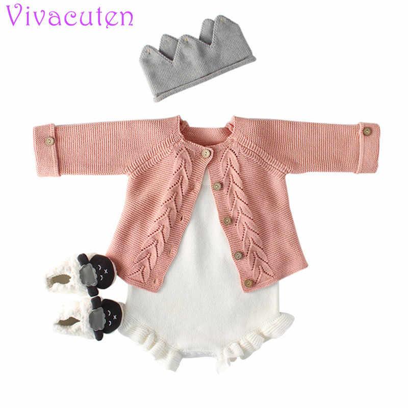 93825bee978 New Baby girls Cardigan Children's Wear Sweater Girl Baby Cotton Knit  Cardigan Coat Cardigan Girl Kids