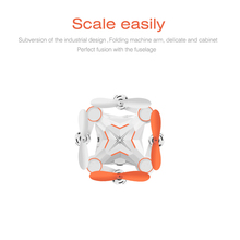 F18781 3 Heliway 901 RC Mini Pocket Drone Foldable NO Camera Portable 2 4G 6 AXIS