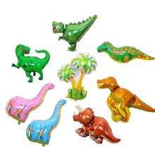 Dinosaur Foil Balloon Boys Animal big size Children Birthday Party Decor Jurassic World Decorations Globos Toy