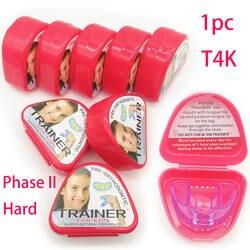 1 шт. T4K детский стоматологический зуб Ортодонтическое устройство тренажер для детей выравнивание подтяжки мундштук Фаза 2 отбеливания