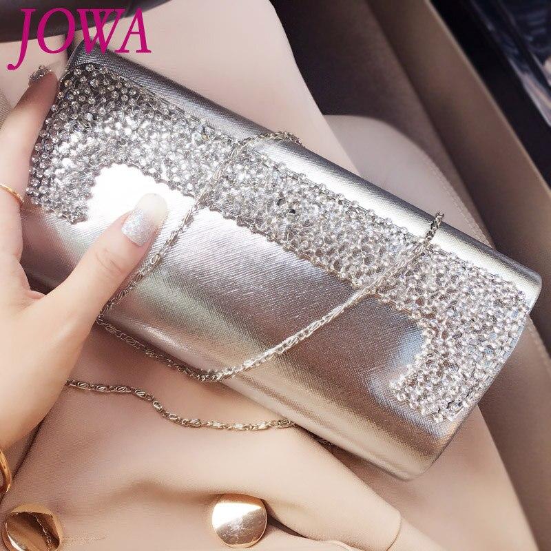 602463c69 2017 Novo Design de Moda das Mulheres Dia Embreagens Bolsa de Diamantes  Brilhantes Capa Pacote Preto Noite Bolsa Cadeia de Todos Os Jogo Bolsa de  Ombro em ...