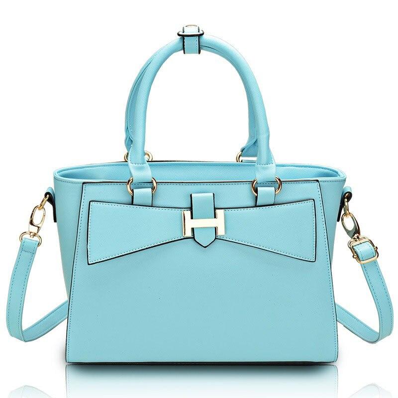 ФОТО Summer Style  Bow Women Messenger Bag Totes Ladies Trapeze Handbags  Shoulder Crossbody Bag  Bolsos