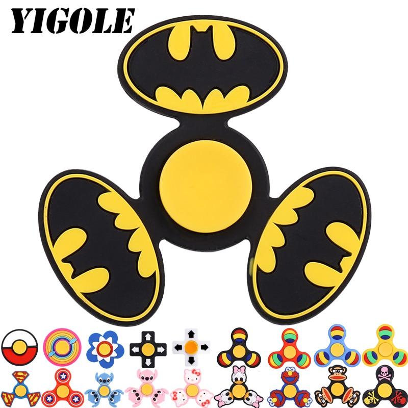 YIGOLE Toys Batman Spiner Anti Stress Finger Hand Spinners