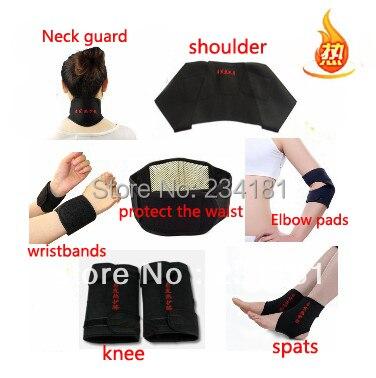 Турмалин самонагряване на талията подкрепа на врата на врата за подкрепа на рамото на гърба подкрепа на глезена лакът / далеч инфрачервена терапия  t